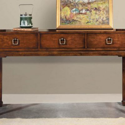3-Drawer Oriental Console