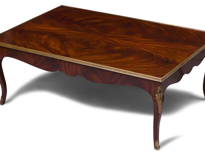 Accented Cocktail Table