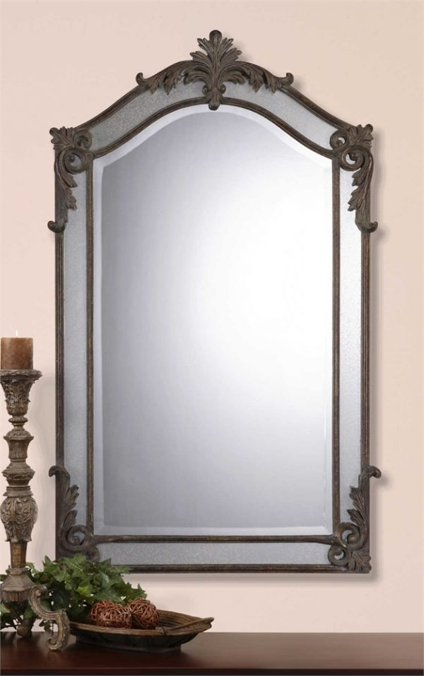 Alvita Medium Mirror - Staged