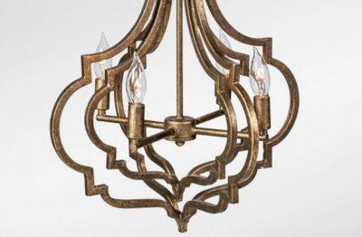 Ashwell Chandelier - bulb detail