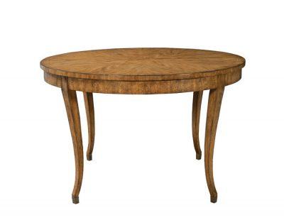 Biedermeier Extension Table in Artisan Mahogany Finish