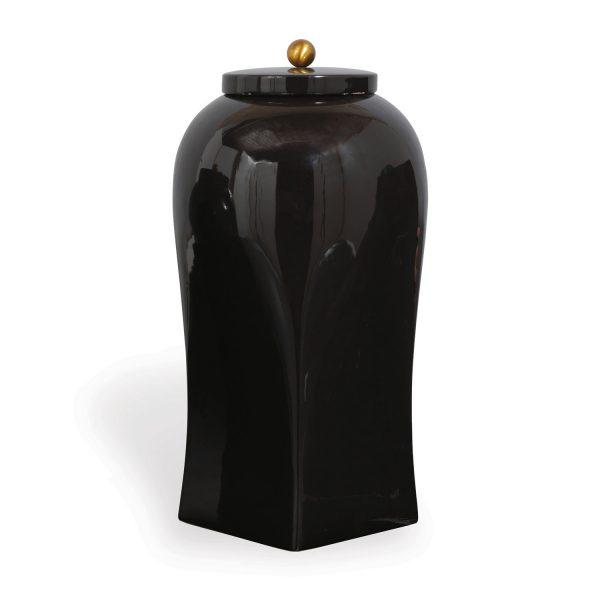 Boulevard Black Large Jar