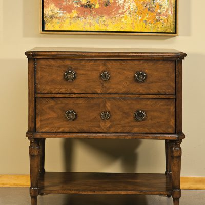 Cherry & Inlay French Table