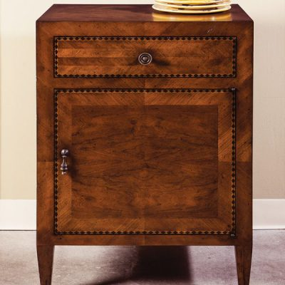 Cherry Italian Inlay Cabinet