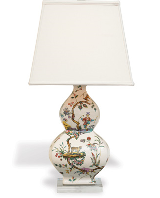 Chinoise Exotique Lamp – Square Shade