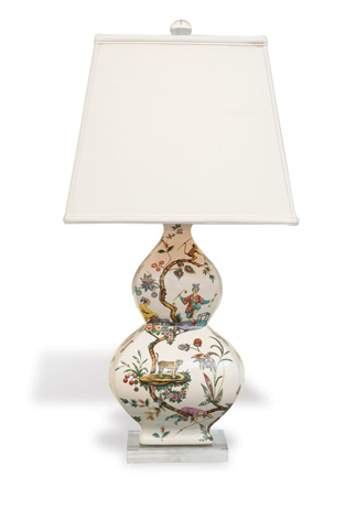 Chinoise Exotique Lamp - Square Shade