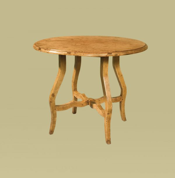 Circular French Table in Olde Timber