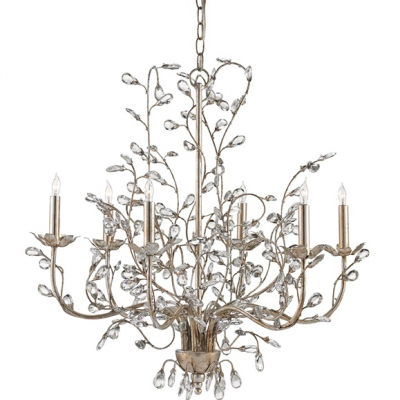Crystal Bud Chandelier – Medium