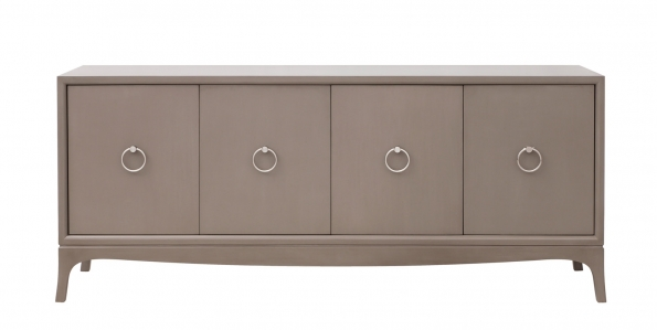 Fiona Entertainment Console - Taupe