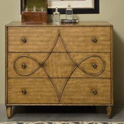 French Art Nouveau Chest-Villa
