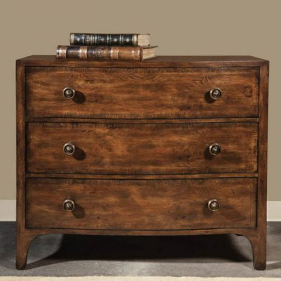 French Oak & Burr Chest