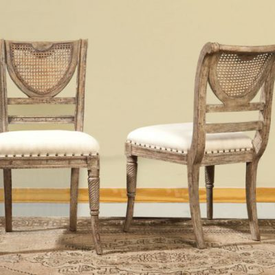 Italian Cane Back Side Chair