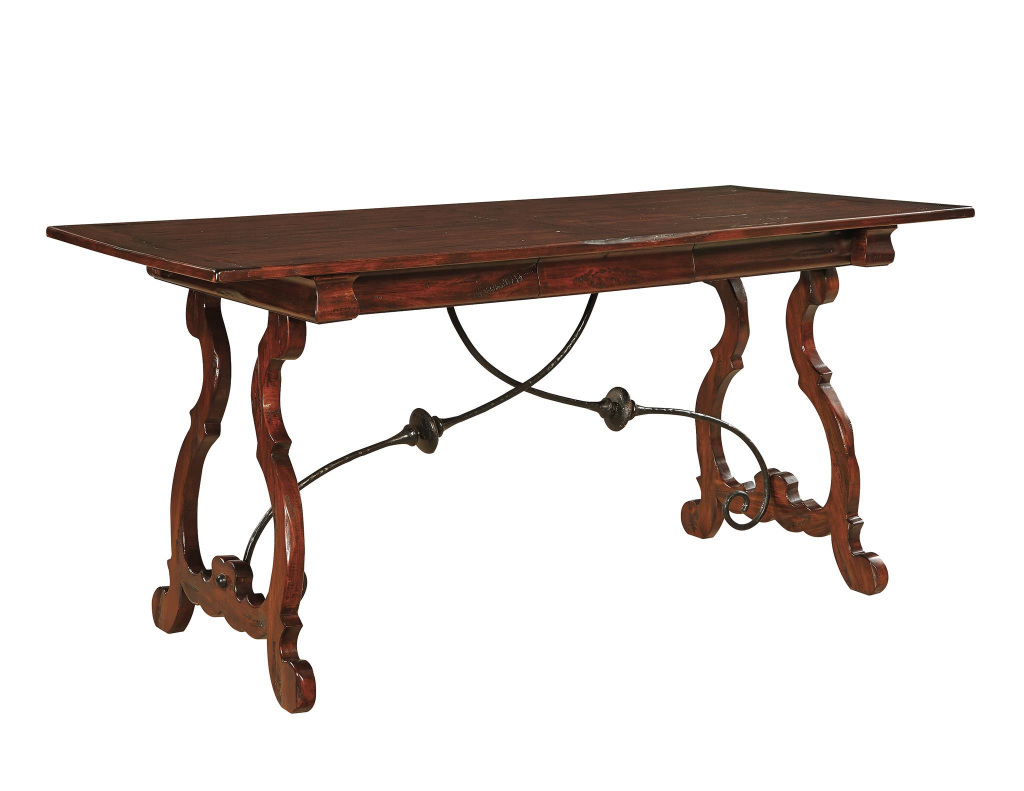 Madeira Desk with Plank Top