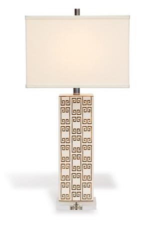 Mizner Key Brown Lamp
