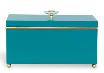 Naples Teal Box