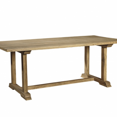 Old Elm Trestle Table