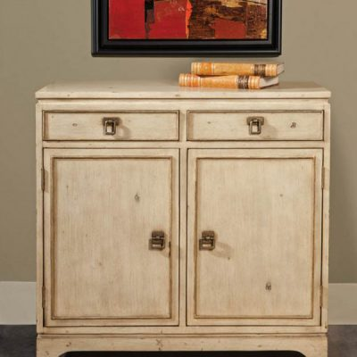Painted 2-drawer Cabinet