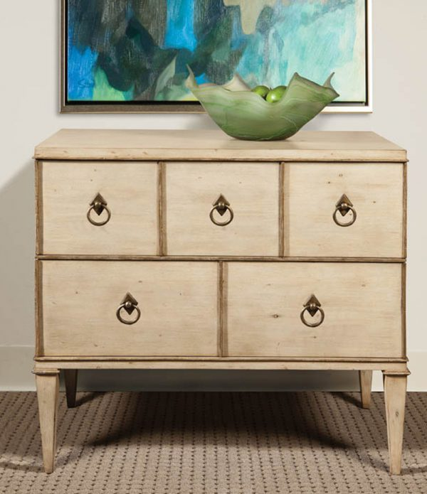 Painted Two Drawer Chest