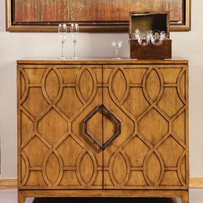 Pine French Cabinet