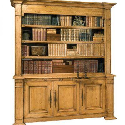 Pine Provincial Bookcase
