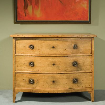 Pine Swedish Serpentine Chest
