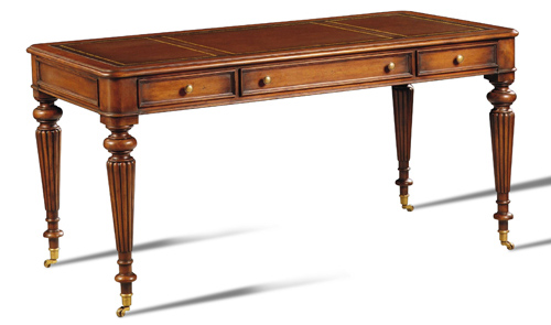 Reeded-Leg Writing Desk