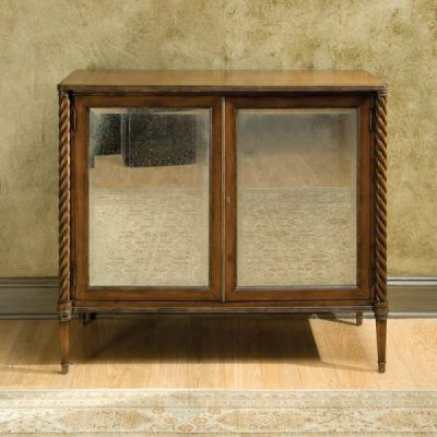 Regency Antique Mirrored Cabinet in Mahogany