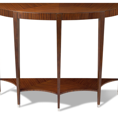 Rosewood Demi Console Table