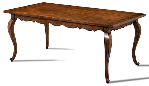 Scalloped Dining Table