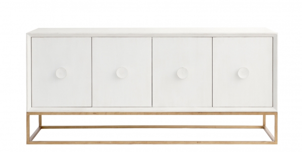 Spencer Entertainment Console - White