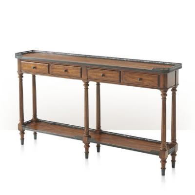 The Slim Oak Console Table