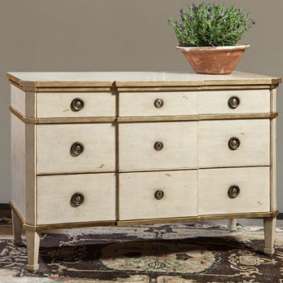 3-Drawer French Chest