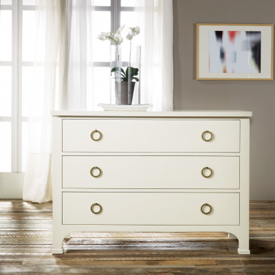 3-Drawer Painted Commode