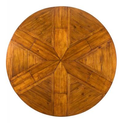 Walnut Jupe Dining Table - Top View