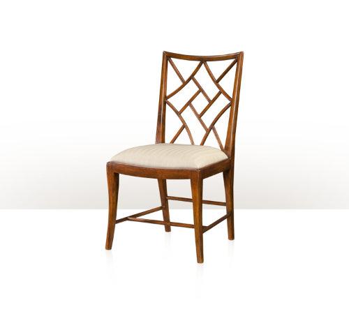 A Delicate Trellis Chair