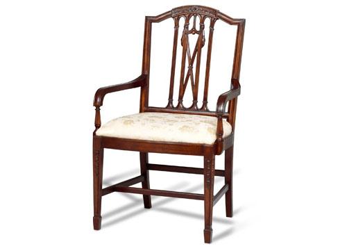 Arch Arm Chair