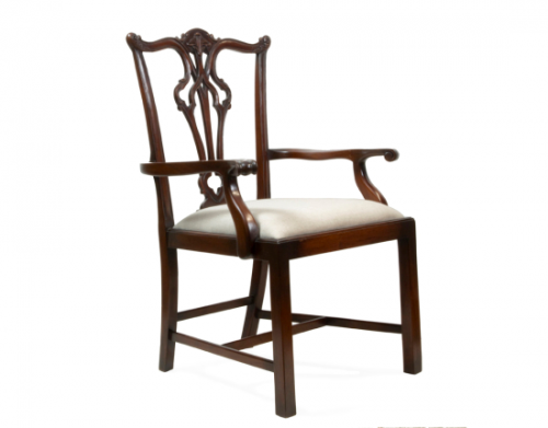 Arm Chair - Dark wood