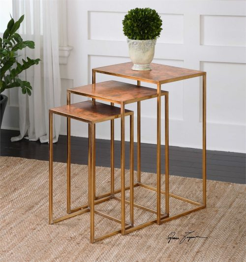 Copres, Nesting Tables, Set/3