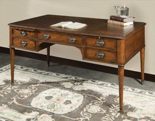 English Mahogany Desk