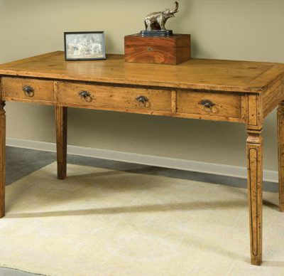 French Empire Desk in Olde Timber