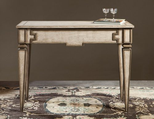 Italian Grisailles Console with Draw - Staged