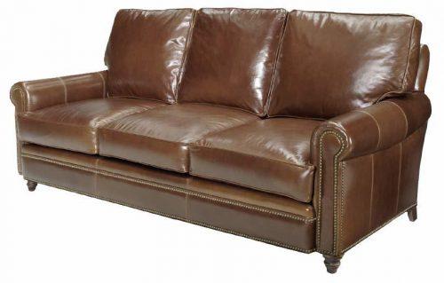 Leather-Tack-Edged-Sofa