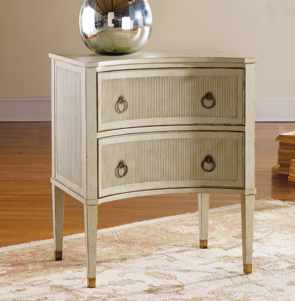 Painted Gustavian Bedside Chest