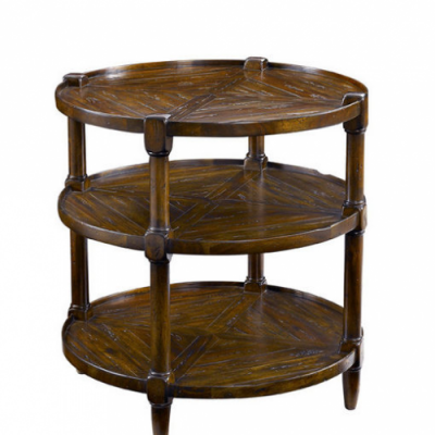 Round Tier End table