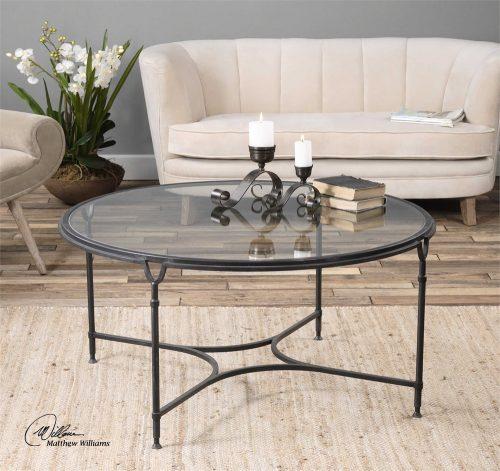 Samson Coffee Table - Staged