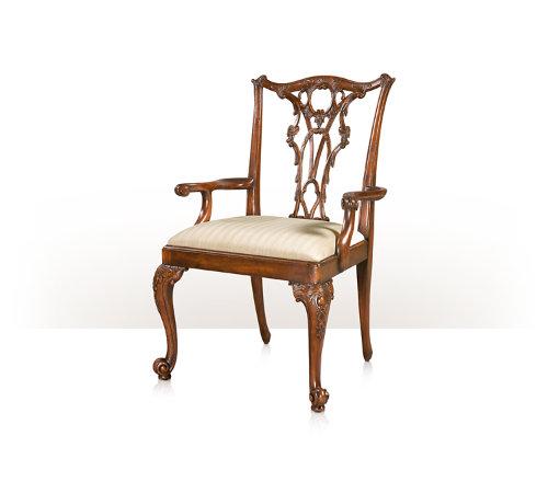 Seated in Rococo Splendour Armchair