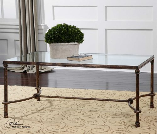 Warring Coffee Table - Staged