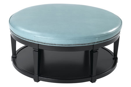 Carrie Table Ottoman - Black