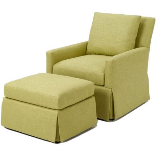 Fowler Chair and Ottoman