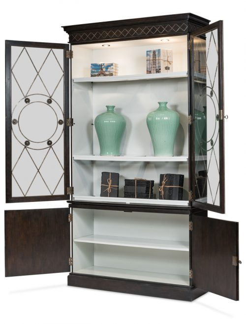 Grafton China Cabinet - Open View